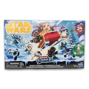 Disney Star Wars Micro Force Advent Calendar 24 Figures Exclusive E5023 2018