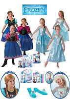SALE! Kids Licensed Disney Princess Frozen Anna / Elsa Girls Fancy Dress Costume
