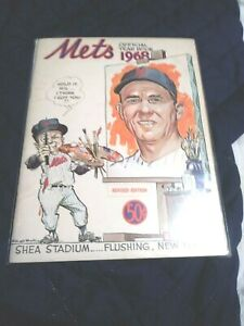 1968 New York Mets Yearbook (revised edition) near mint condition (see scan)