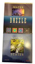 Miramar Music/Visual Images LaserDisc Set~Lot of 3~Natural States/Dazzle/Water