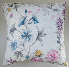 """Shabby Chic Cushion Cover in Laura Ashley Wild Meadow Floral Sateen 16"""""""