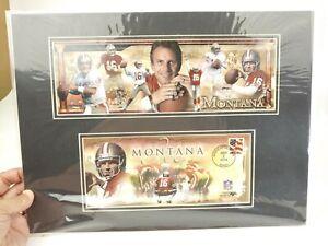 Joe Montana 49ers 25th anniversary photo cover #2 US Postal Service - 2004