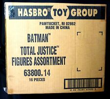 Hasbro DC Comics Total Justice Factory Sealed 16 Figure Case #63800.14 New 1997