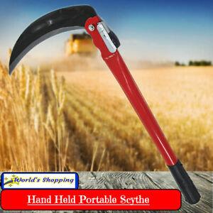 Hand Held Portable Scythe - Gardening - Farming - Harvesting - Weeding - Reaper