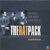 The Rat Pack: the Stars That Made Las Vegas, Sinatra, Frank, Audio CD, Acceptabl