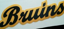 "HUGE BOSTON BRUINS IRON-ON PATCH - 3"" x 9"""