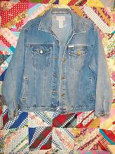 Arizona Jeans Company Medium Denim Jacket gypsy rock Blues M Pattern