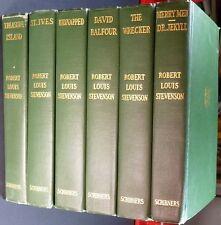 Robert Louis Stevenson 6 volumesTreasurer Island, Kidnapped, St. Ives and 3 more