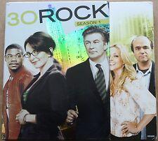 30 Rock The Complete First Season (DVD, 2007, 3-Disc Set) Season 1