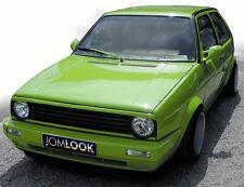 GRILLE SPOILER UPPER EYEBROW GRILLSPOILER JOM for VW GOLF JETTA GTi GLi MK2