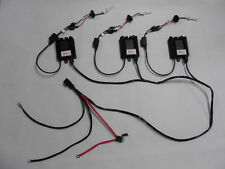 HID Wiring Loom for 3 Lights suits 35w 50w 55w 70w 75w 100w Also Suit Light Bar