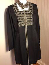 CABI Women's 8 Turkish Delight Coat Brown Long Sleeve Tunic Jacket - Retail $158