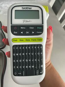 **Brand New** Brother p-touch label maker with New Tape and Carry Case!