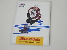 SHANE O'BRIEN AUTOGRAPHED 2012-13 O-PEE-CHEE HOCKEY CARD