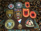 Balkans War Croatia-Bosnia military patches 1990s