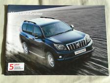 Toyota Land Cruiser range brochure Oct 2010