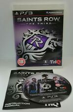 Saints Row: The Third Video Game for Sony PlayStation 3 PS3 TESTED