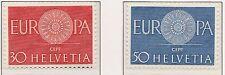 Europa CEPT 1960 Zwitserland 720-721 - POSTFRIS MNH