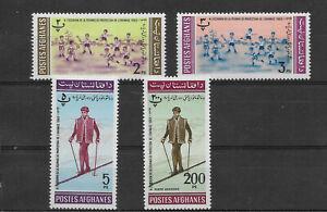 Afganisthan 1963, postfrische Marken
