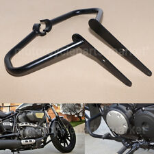Black Engine Guard Crash Protection Bars For Yamaha V Star XVS950 Bolt XV950