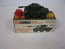Corgi #906 Saladin Armored Car - 1974 Vintage