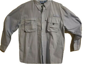 PT Sportswear Mens Sz M Shirt Light Sportswear Long Sleeve Button up Fishing