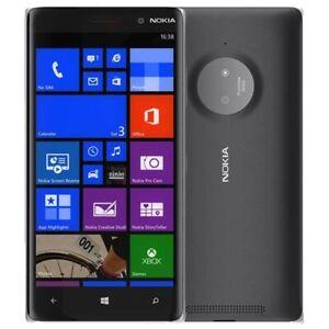 UNLOCKED NOKIA LUMIA 830 RM-985 WINDOWS BLACK CELL PHONE FIDO ROGERS TELUS BELL+