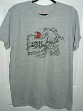 New Angry Orchard Hard Cider Men's Graphic Tee T-Shirt Gray (2Xl) Xxl