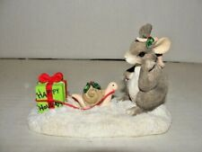 Vintage Charming Tails Waiting for Christmas Limited Edition Silvestri Signed