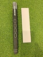 """New Lamkin Sink 13"""" Rounded Putter Grip, Black, .58R, Oversize w/ Grip Tape"""