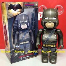 Medicom 2016 Be@rbrick DC Dawn Justice 400% Superman v Armored Batman Bearbrick