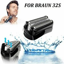 For Braun 32S Series 3 Electric Shaver Replacement Foil & Cutter Cassette-Sliver