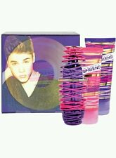Justin Bieber's Girlfriend 3 Piece Boxed Set 50ml Perfume 100ml Lotion/Body Wash