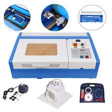 40W CO2 USB 220V Laser Engraving/Graveur Laser machine Gravure Area 300x200mm