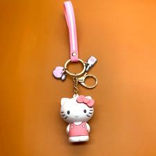 Cartoon Keychain Hello Kitty Women Charm For Handbags Decor Accessories