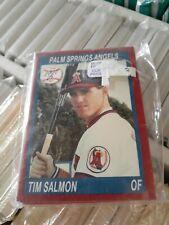 1990 Palm Springs Angels team setCal League Card Tim Salmon Phoenix Arizona Card