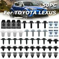 50x Car Engine Undertray Cover Clips Bottom Shield Guard Screws For Toyota Lexus