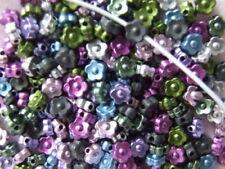 Multi Flower Jewellery Making Beads