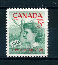 CANADA 1961 BIRTH CENTENARY OF E. PAULINE JOHNSON SG518  MNH