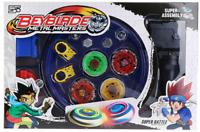 Beyblade Metal Masters burst Fusion with Stadium Grip Launcher Set