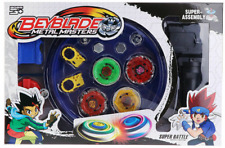 Beyblade Metal Masters burst Fusion with Stadium Grip Launcher Set