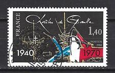 France 1980 Charles de Gaulle n° 2114 oblitéré 1er choix (2)