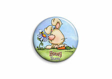 Animaux - Lapin 1 - Badge 25mm Button Pin
