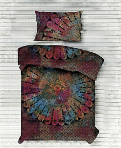 Indian Cotton Duvet Doona Cover Mandala New Hippie Bohemian Quilt Bedding Double