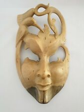 Masquerde Mask Solid Hibiscus Wood.