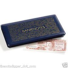 Pocket Banknotes Album Wallet 20 Pages Currency Holder Paper Money Book Holds 20