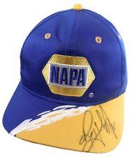 Vintage Napa Auto Parts Racing Logo Baseball Cap Autographed by Ron Hornaday Jr