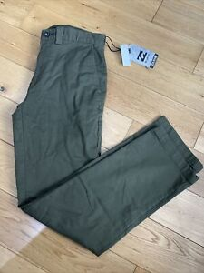 Billabong Mens Carter Adventure Division Trousers Jean Military Green Size W30 R