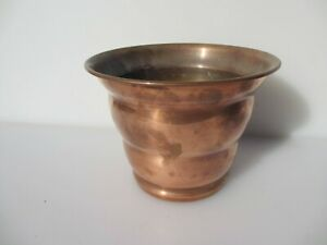 Vintage Copper Trough Tub Planter Plant Pot Antique Old Urn