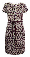 New White Stuff 6 - 18 Purple Ivory Mauve SPERO Floral Shift Tea Dress Tunic